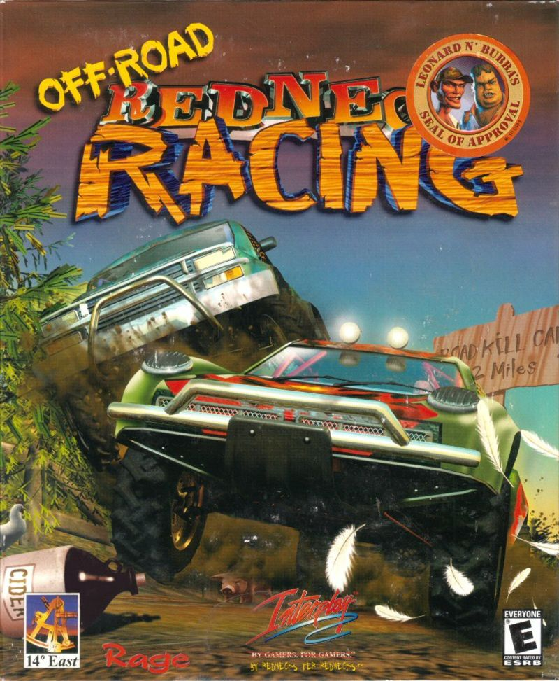 Off-Road Redneck Racing Windows Front Cover