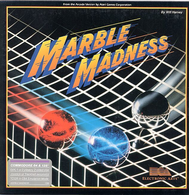 Marble Madness For Commodore 64 1986 Mobygames