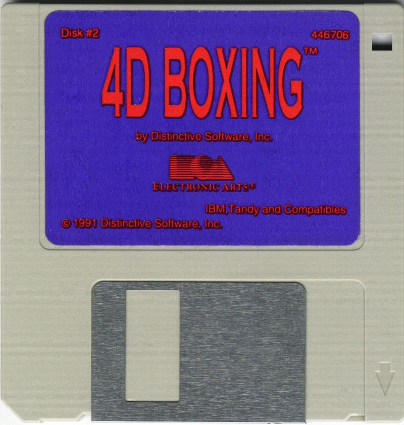 4-D Boxing DOS Media Disk 2