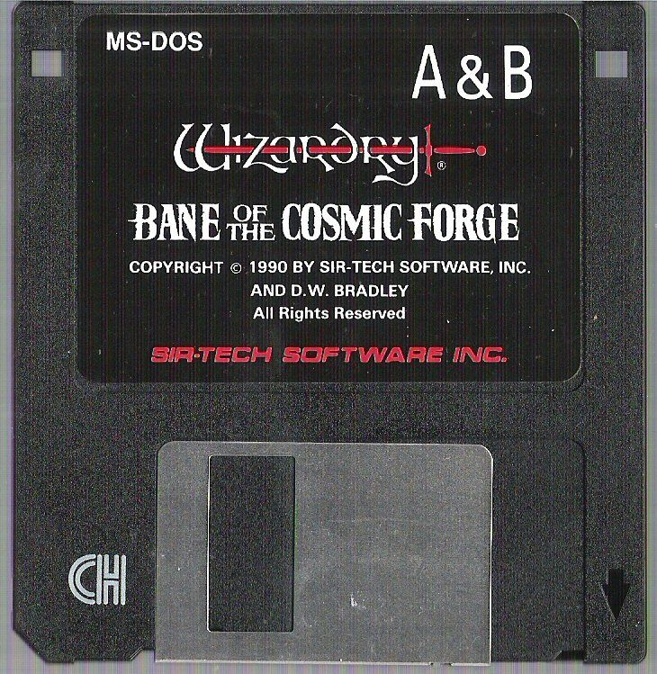 Wizardry Trilogy 2 DOS Media Wizardry: Bane of the Cosmic Forge