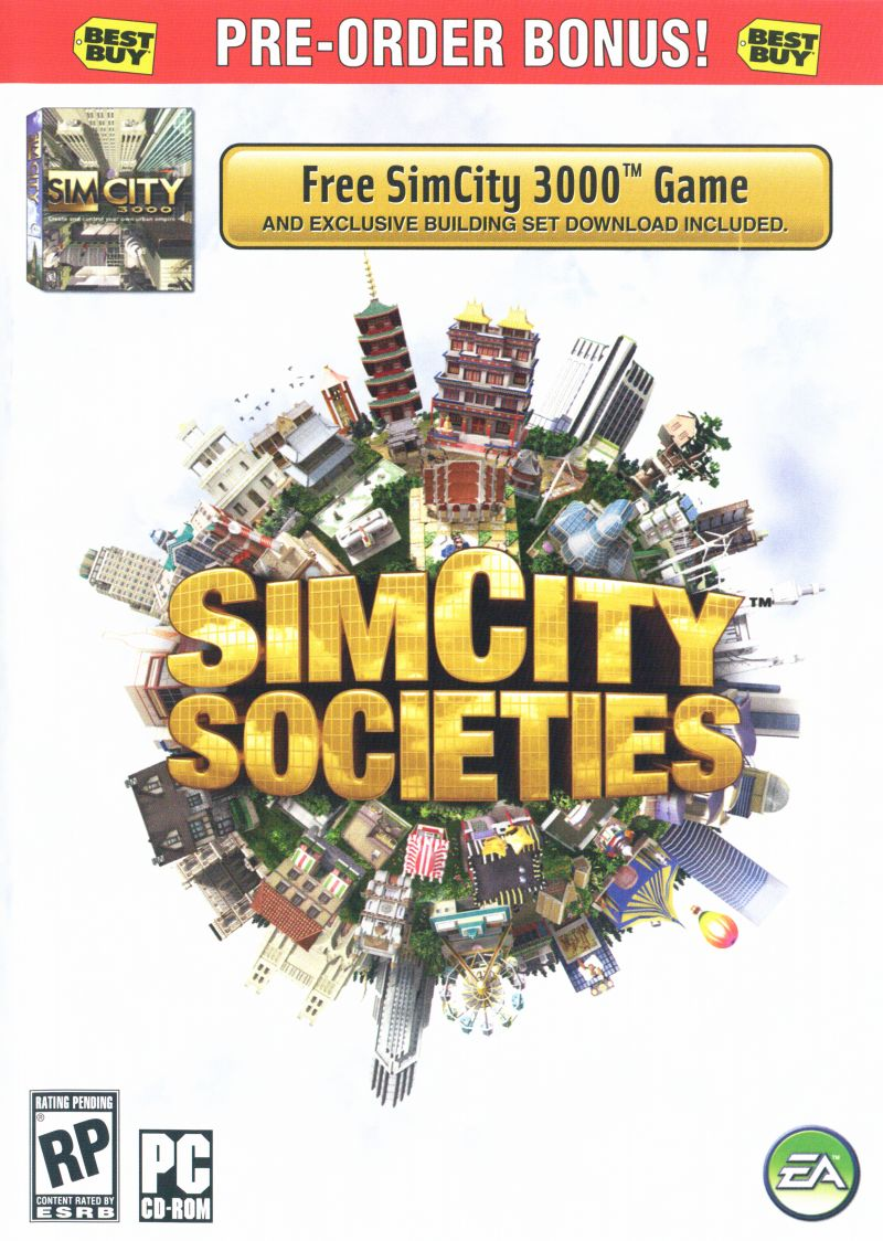SimCity Societies Windows Front Cover