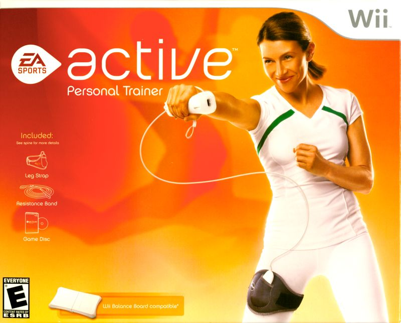 EA SPORTS Active Wii Front Cover
