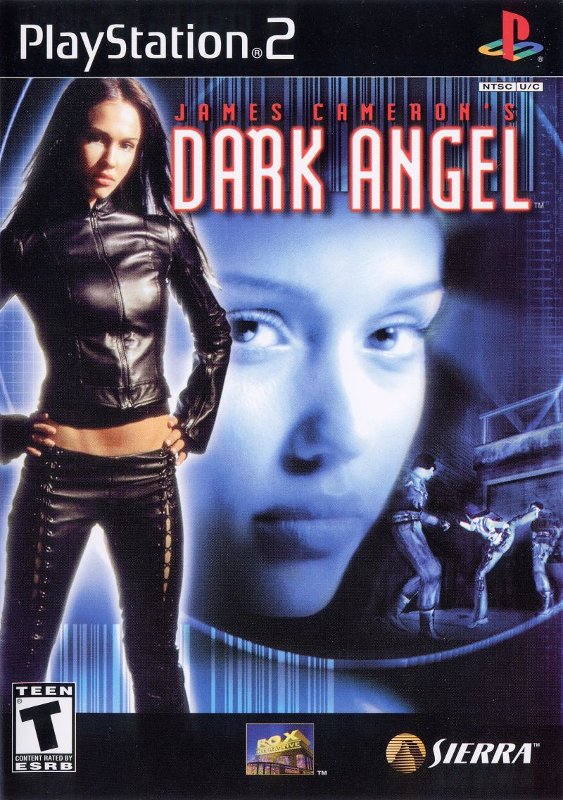 James Cameron's Dark Angel PlayStation 2 Front Cover