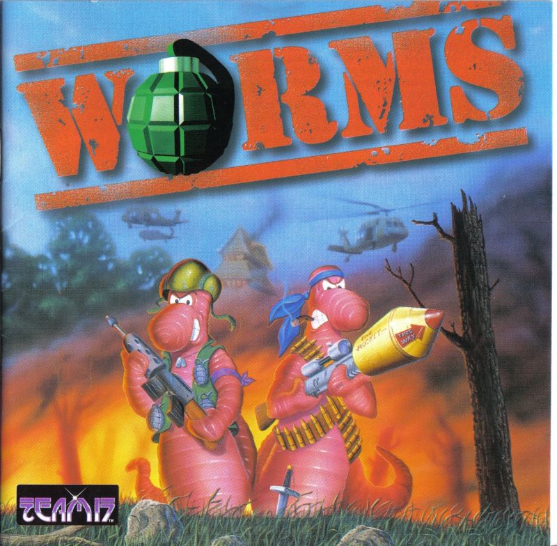 Worms DOS Other Jewel Case - Front