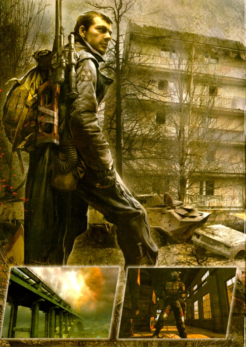 S.T.A.L.K.E.R.: Call of Pripyat (Collector's Edition) Windows Inside Cover Left