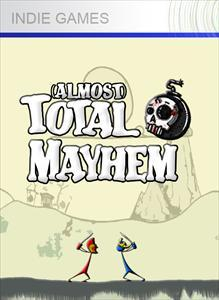 (Almost) Total Mayhem Xbox 360 Front Cover