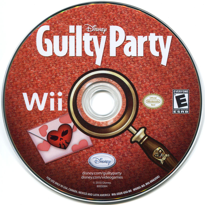 Disney Guilty Party Wii Media