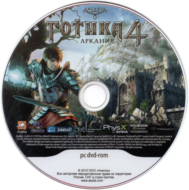 ArcaniA: Gothic 4 Windows Media