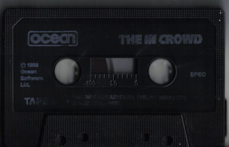 The In Crowd ZX Spectrum Media Tape 2/6 - Crazy Cars & Target: Renegade