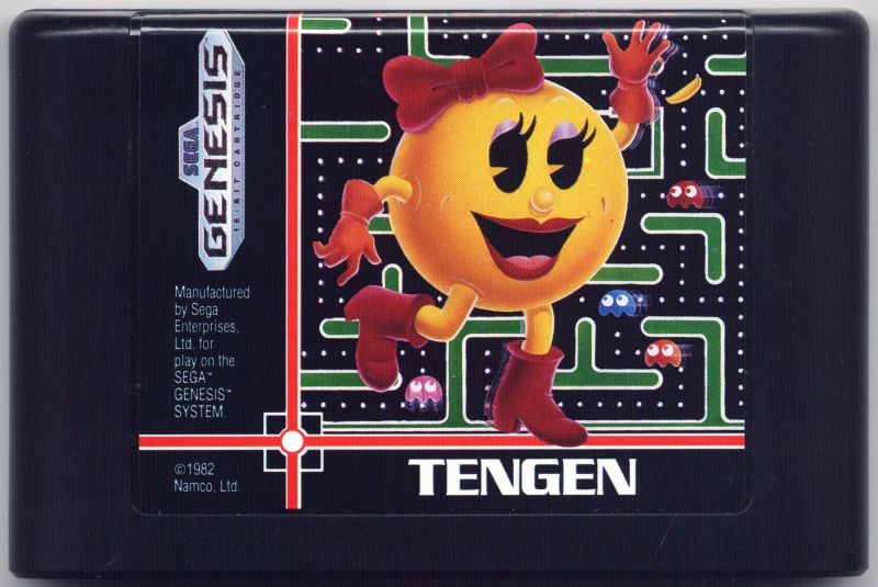 Ms. Pac-Man Genesis Media