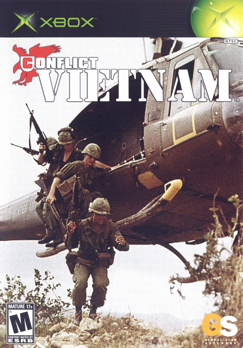 Conflict: Vietnam Xbox Front Cover