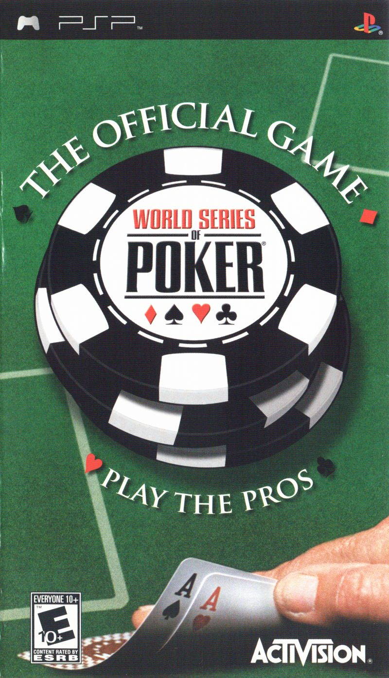 World Series of Poker PSP Front Cover
