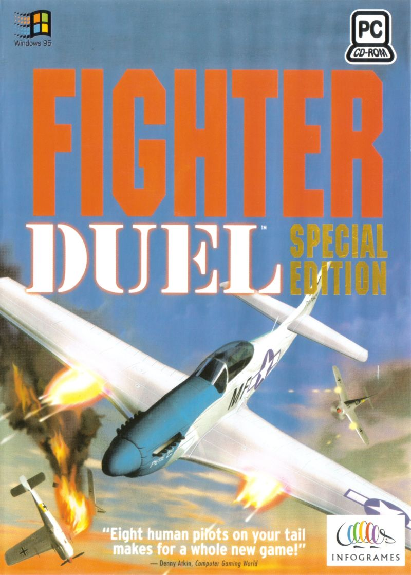 Fighter Duel: Special Edition DOS Front Cover