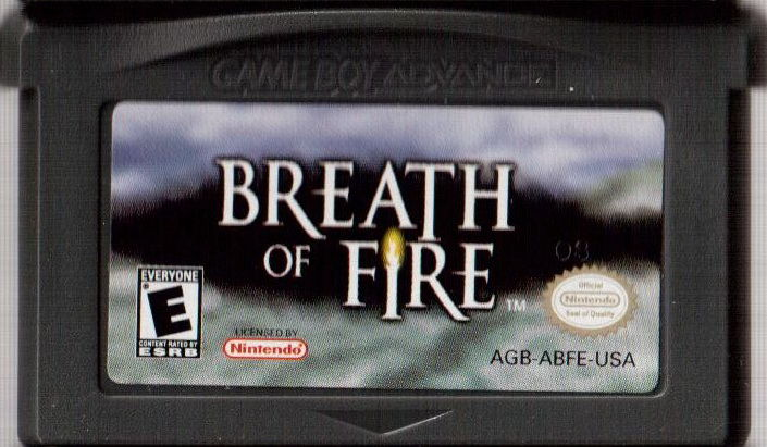 Breath of Fire Game Boy Advance Media