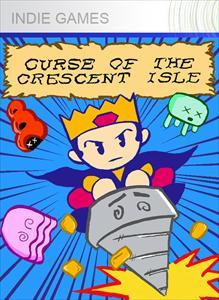 Curse of the Crescent Isle Xbox 360 Front Cover