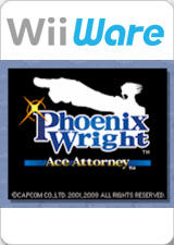 Phoenix Wright: Ace Attorney Wii Other WiiWare logo