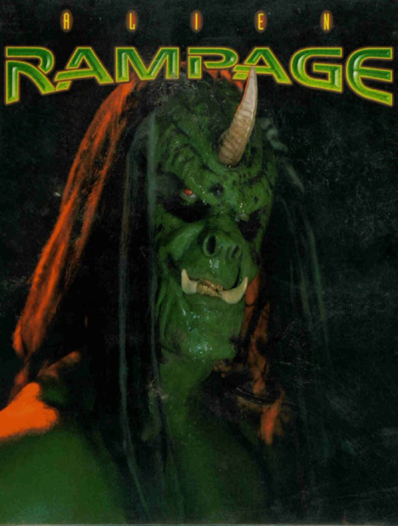 Alien Rampage DOS Front Cover