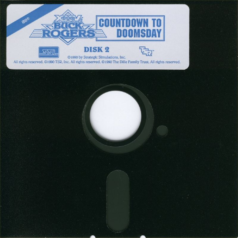 Buck Rogers: Countdown to Doomsday DOS Media Disk 2