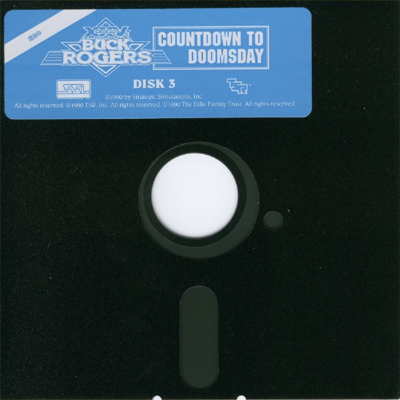 Buck Rogers: Countdown to Doomsday DOS Media Disk 3