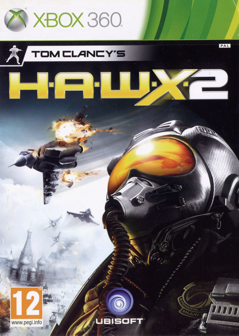 Tom Clancy's H.A.W.X 2 Xbox 360 Front Cover