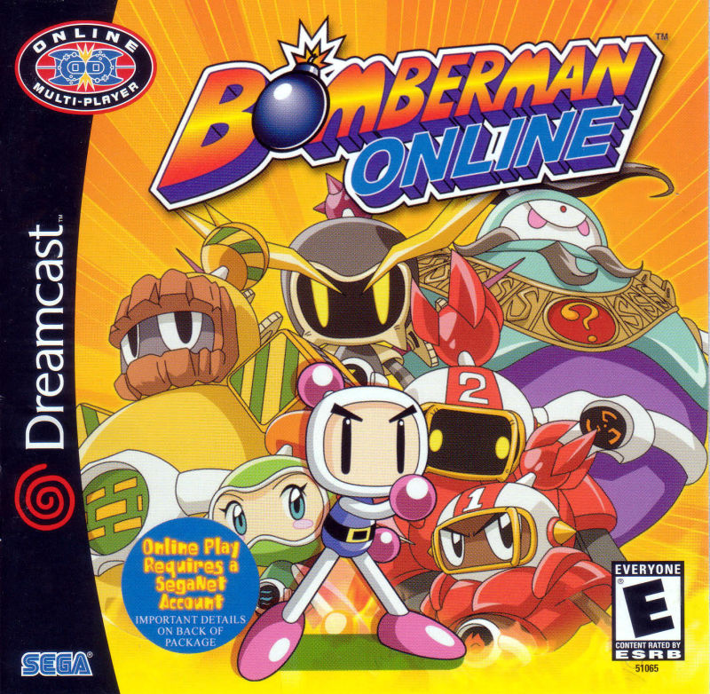 Bomberman Online Dreamcast Front Cover