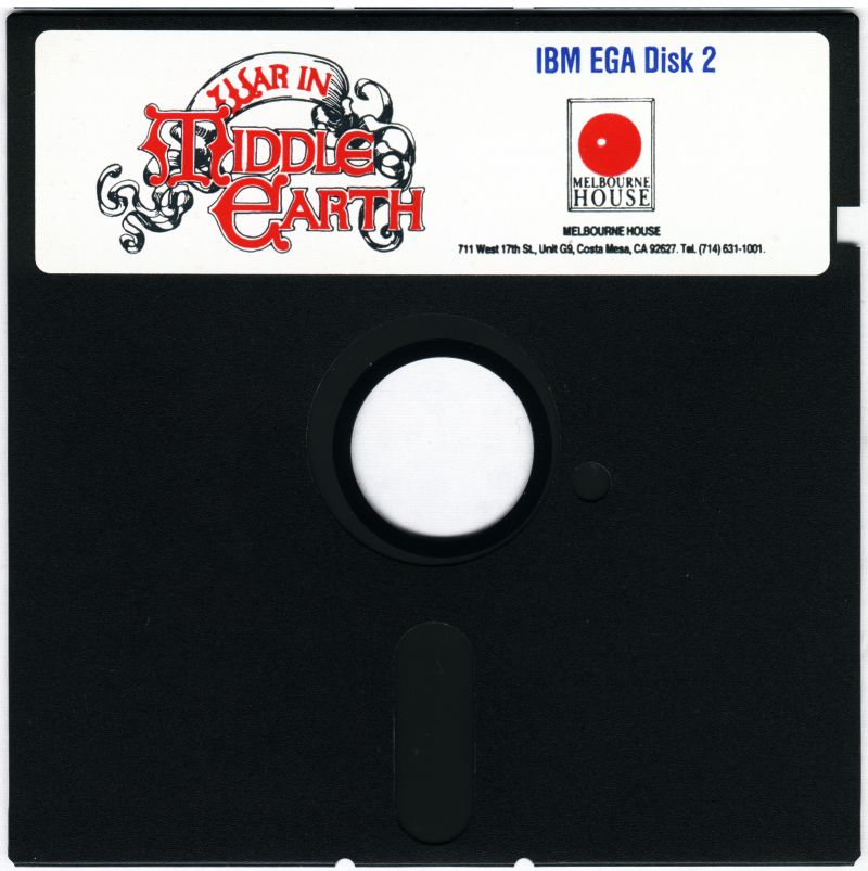J.R.R. Tolkien's War in Middle Earth DOS Media Disk 2