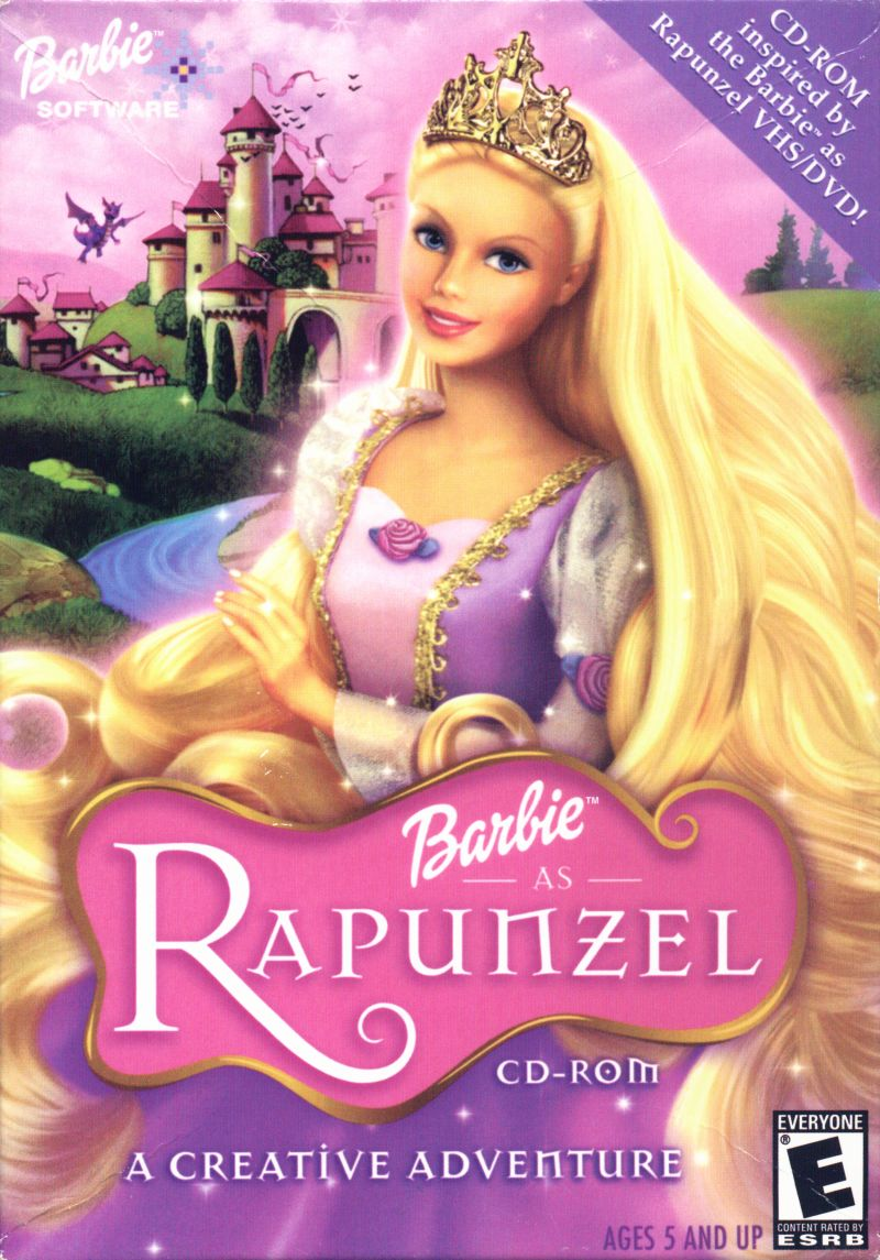 Barbie as Rapunzel: A Creative Adventure Macintosh Front Cover