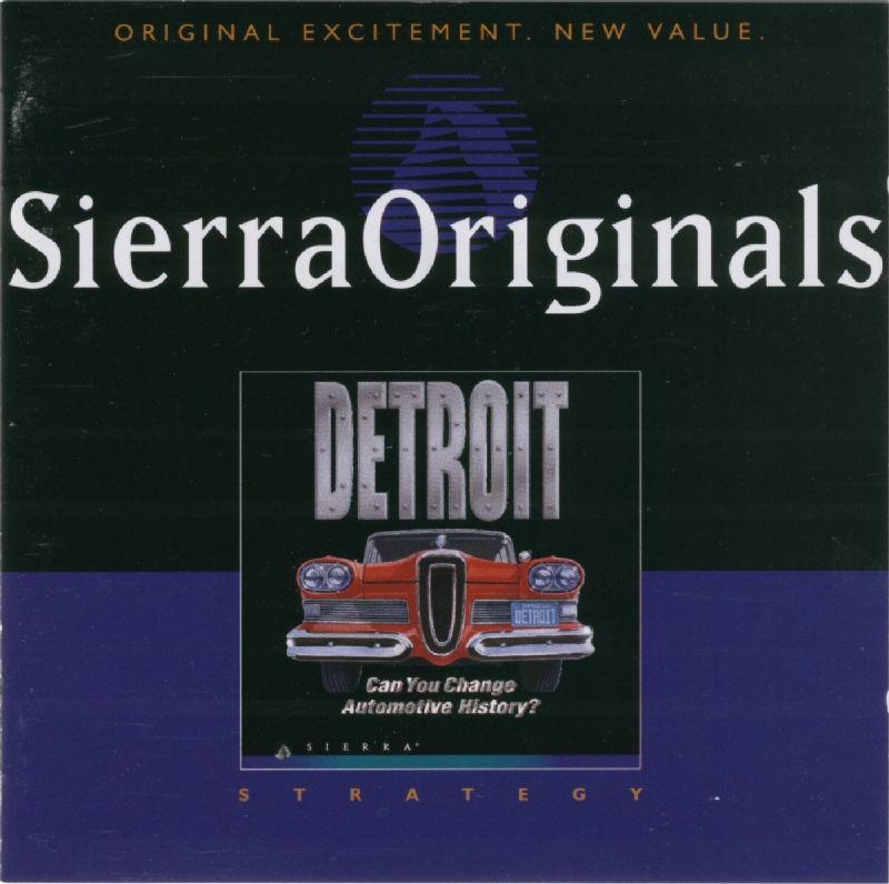 Detroit DOS Other Jewel Case - Front