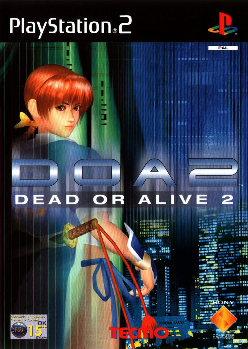 dead or alive 2 2000 playstation 2 box cover art mobygames With playstation 2 is dead long live playstation