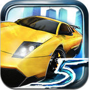 Asphalt 5 iPhone Other iTunes Store Logo