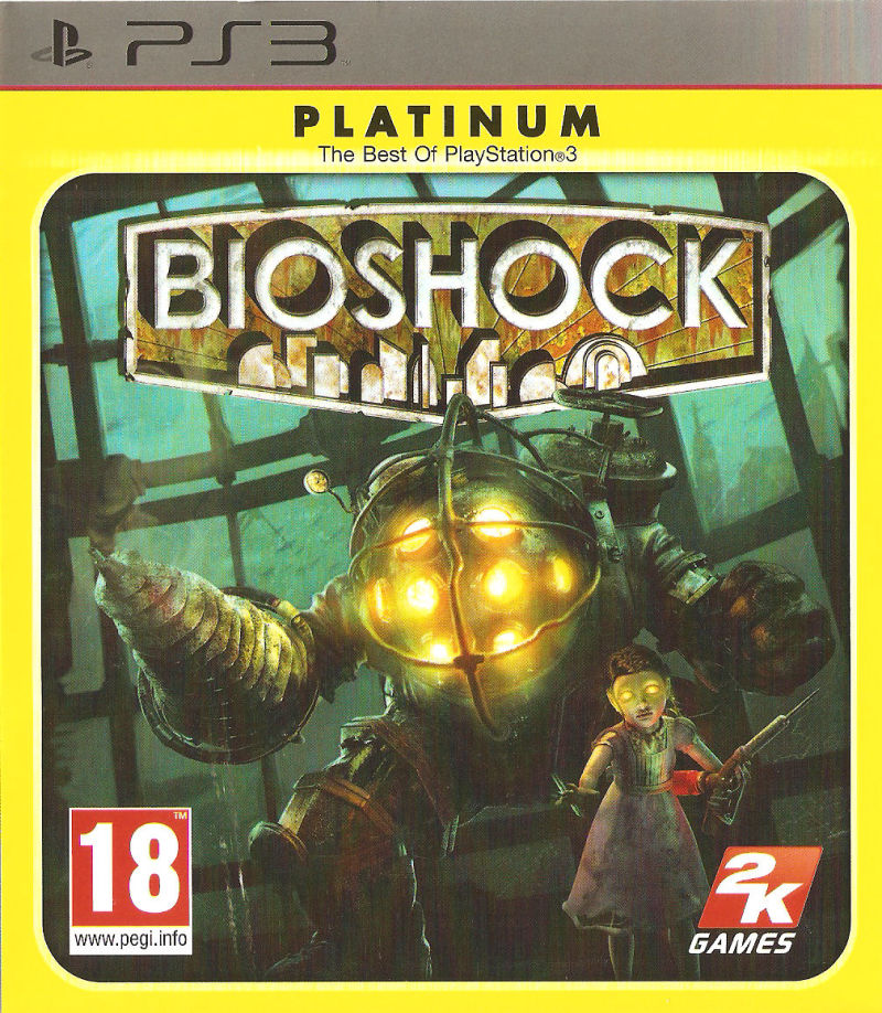 BioShock PlayStation 3 Front Cover