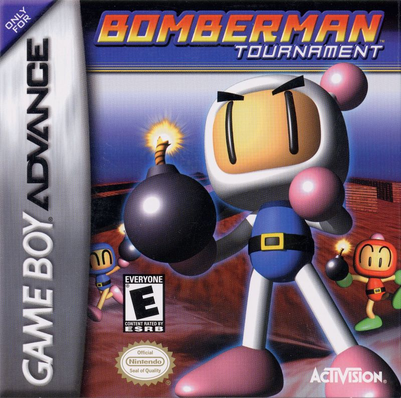 Bomberman Tournament Game Boy Advance Front Cover