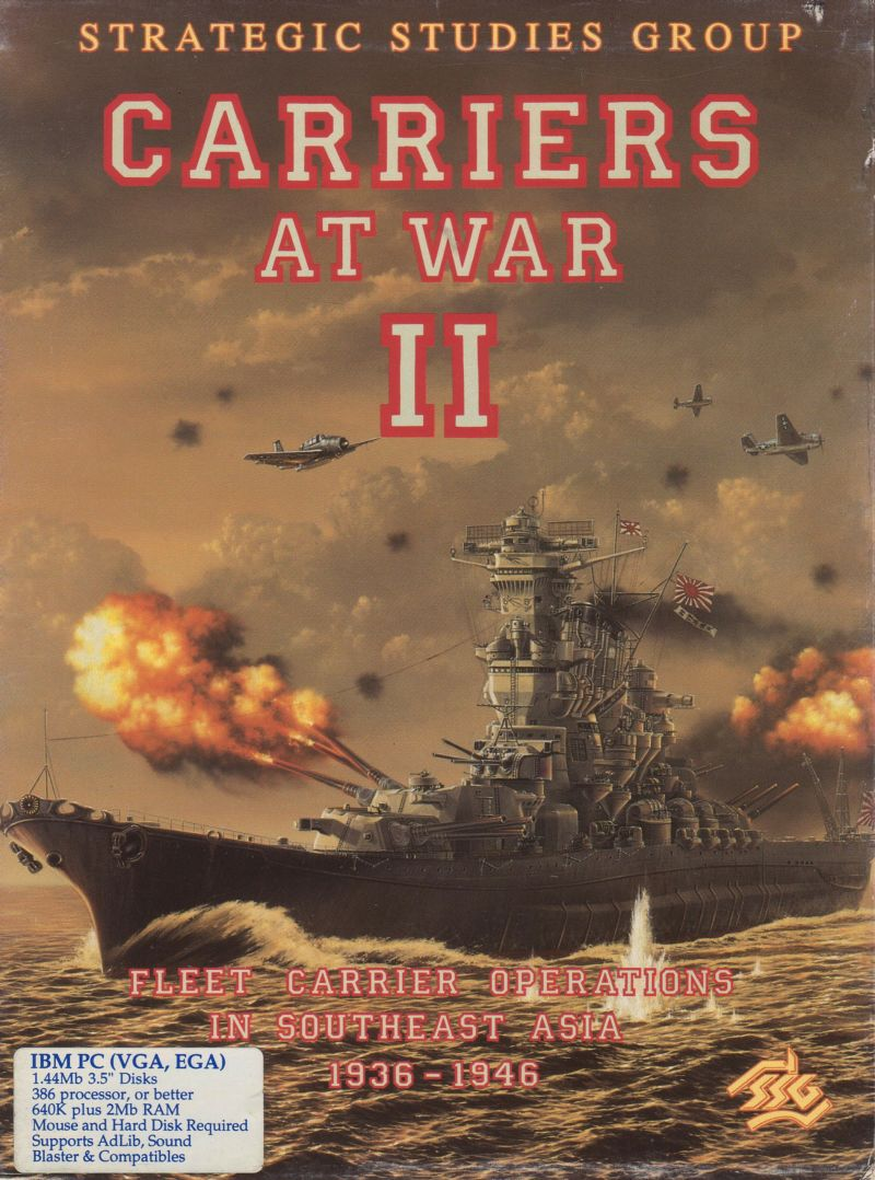 Carriers at War II DOS Front Cover
