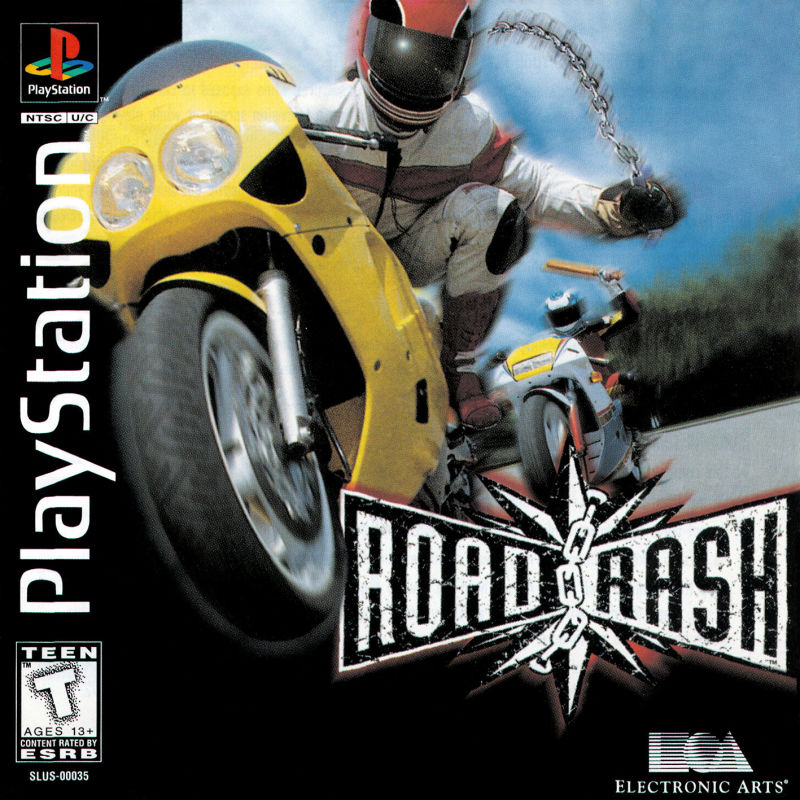 Road Rash for PlayStation (1995) - MobyGames
