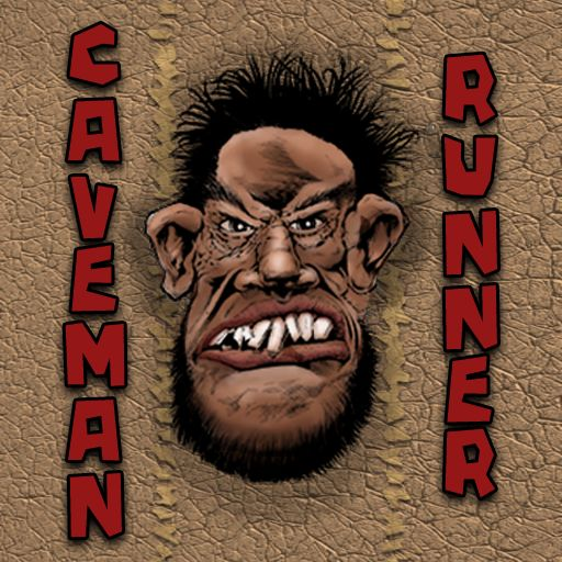 Caveman Runner iPhone Front Cover