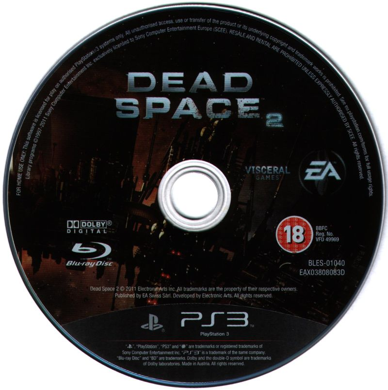 Dead Space 2 (Limited Edition) PlayStation 3 Media