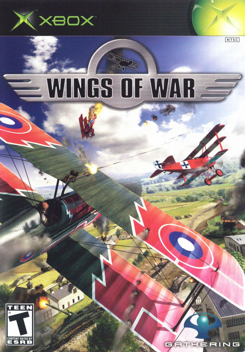 Wings of War Xbox Front Cover