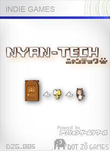 Nyan-Tech Xbox 360 Front Cover