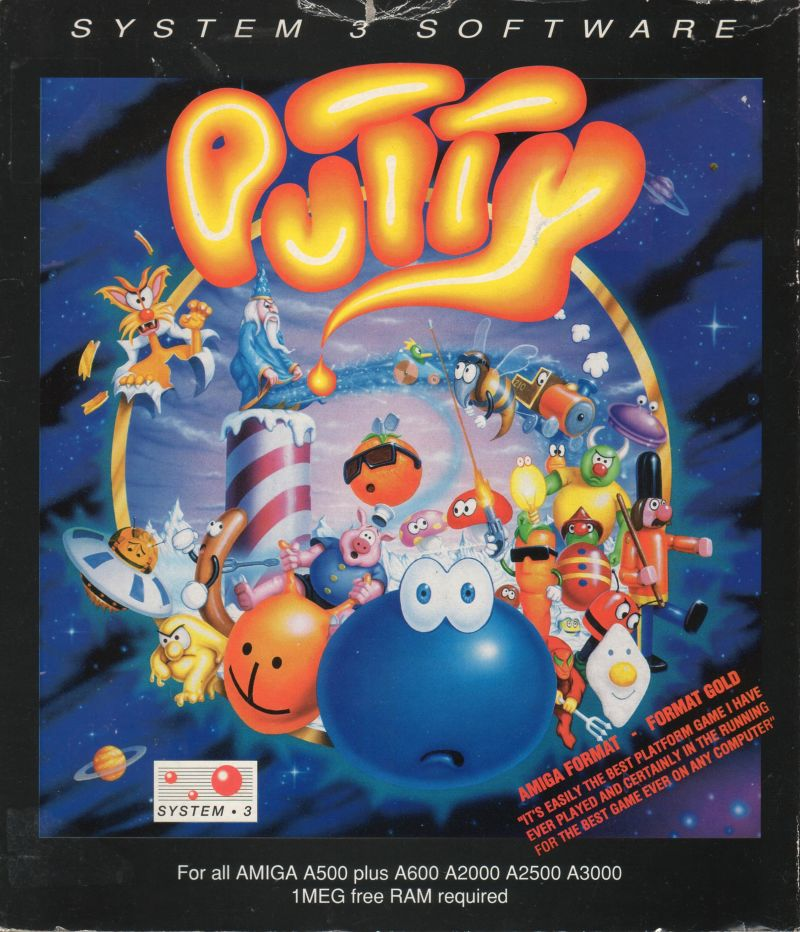 Putty Amiga Front Cover