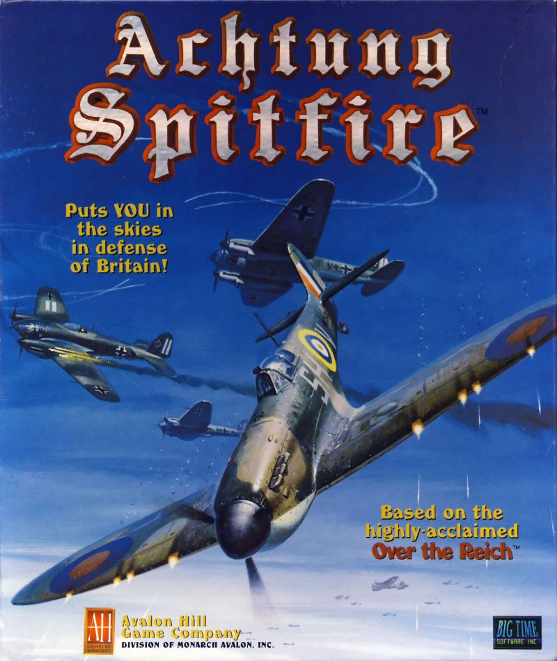 Achtung Spitfire Macintosh Front Cover