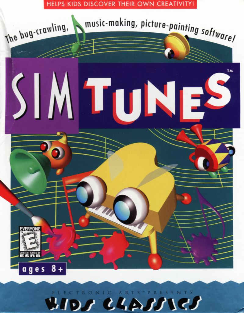 SimTunes Windows Front Cover