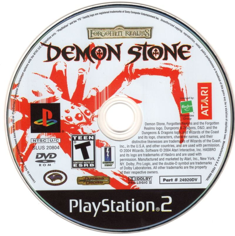 Forgotten Realms: Demon Stone PlayStation 2 Media