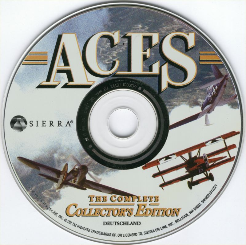 Aces: The Complete Collector's Edition Windows 3.x Media