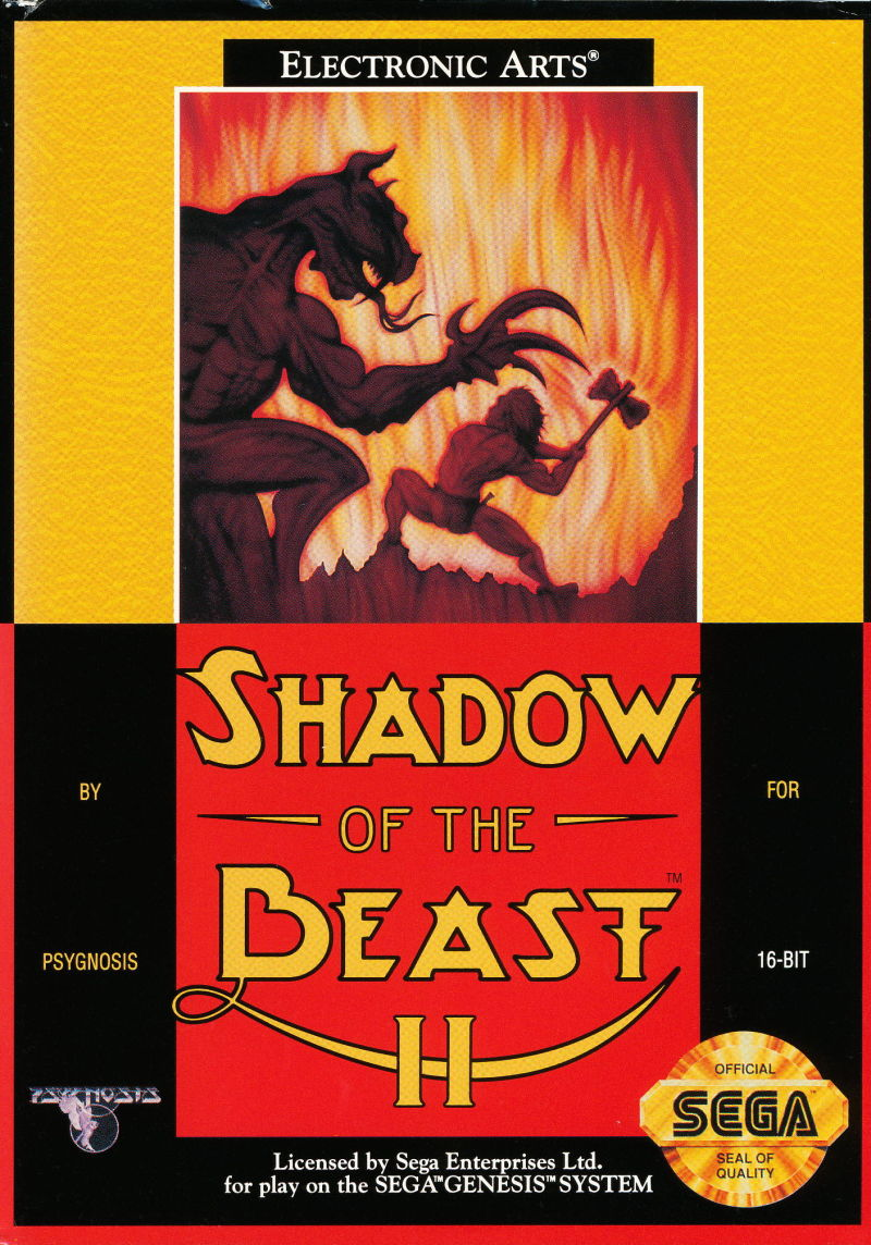 Shadow Of The Beast Ii For Genesis 1992 Mobygames