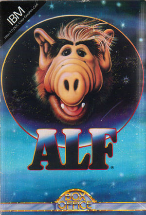 ALF: The First Adventure DOS Front Cover