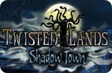 Twisted Lands: Shadow Town Macintosh Front Cover