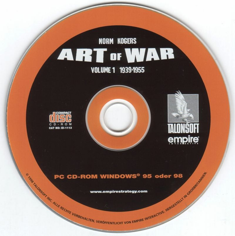 Norm Koger's The Operational Art of War Vol 1: 1939-1955 Windows Media