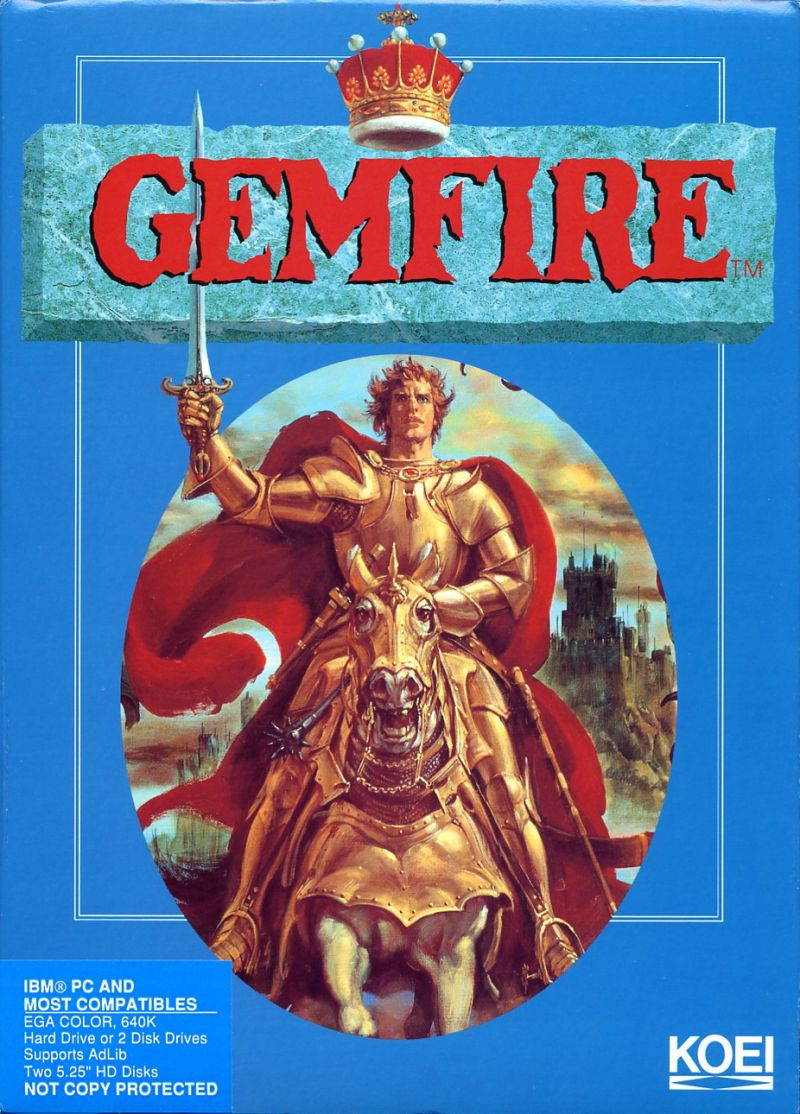 Gemfire DOS Front Cover