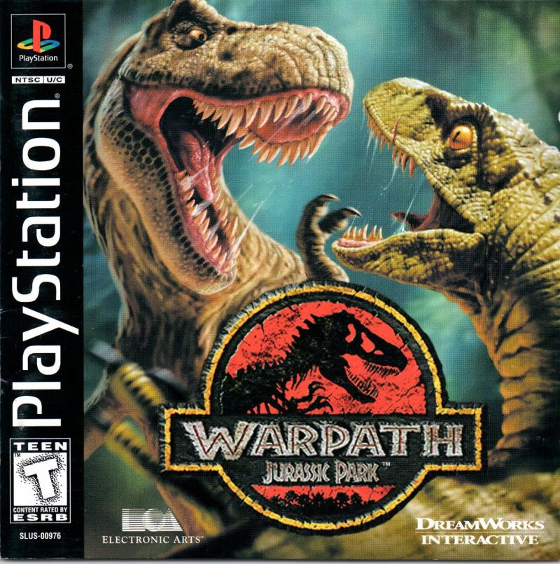 Warpath: Jurassic Park PlayStation Front Cover