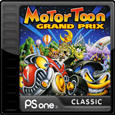 Motor Toon Grand Prix PlayStation 3 Front Cover